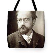 Emile Zola (1840-1902) Tote Bag