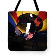 Glow At Night Tote Bag