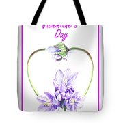 Happy Valentines Day Tote Bag