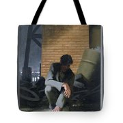 6. Jesus Prays Alone / From The Passion Of Christ - A Gay Vision Tote Bag