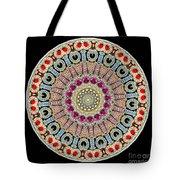 Kaleidoscope Colorful Jeweled Rhinestones Tote Bag