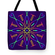 Kaleidoscope Drawing Tote Bag