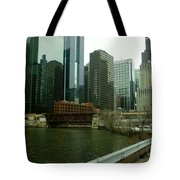 Lake Street Bridge Tote Bag