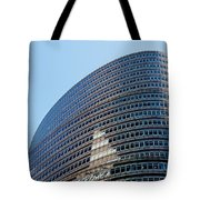 Lipstick Building Tote Bag