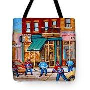 Montreal Paintings Tote Bag