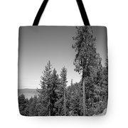 Mountainside Near Lake Tahoe Tote Bag