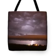 Nebraska Roll Cloud A Cometh Tote Bag
