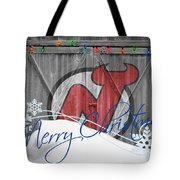 New Jersey Devils Tote Bag