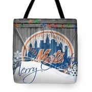 New York Mets Tote Bag by Joe Hamilton