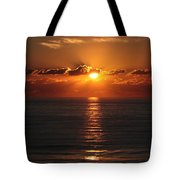 Ocean City Md Sunrise Tote Bag