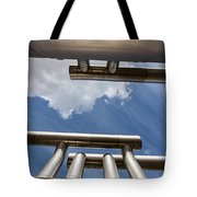 Pipes At Nesjavellir Geothermal Power Tote Bag