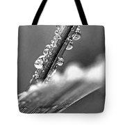 Raindrops On Grass Tote Bag by Elena Elisseeva