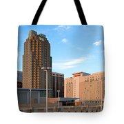 Raleigh Skyline Tote Bag