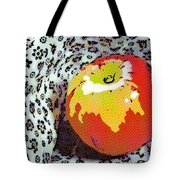 Red And Yellow Apple Tote Bag