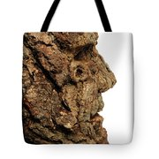 Revered   A Natural Portrait Bust Sculpture By Adam Long Tote Bag