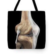 Right Knee Ligaments Tote Bag