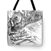 Roosevelt Cartoon, 1906 Tote Bag