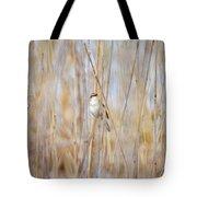Sedge Warbler Tote Bag