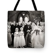 Silent Film Still: Wedding Tote Bag