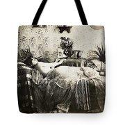 Sleeping Woman, C1900 Tote Bag