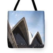 Sydney Opera House Detail In Australia  Tote Bag
