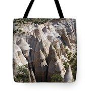 Tent Rocks Tote Bag