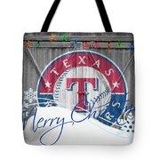 Texas Rangers Tote Bag