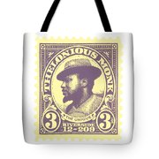 Thelonious Monk -  The Unique Thelonious Monk Tote Bag