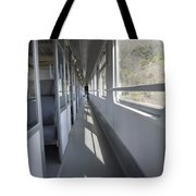 Train Wagon Tote Bag