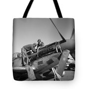 Tuskegee Airmen, 1945 Tote Bag