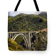 604 Det  Big Sur Bridge Tote Bag