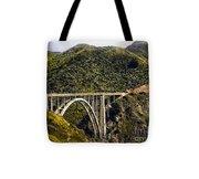 604 Det  Big Sur Bridge Tote Bag