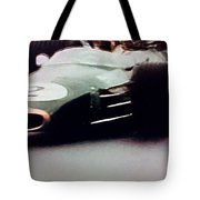 60's Era Formula 1 Race Tote Bag
