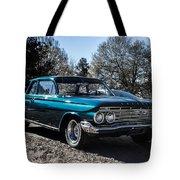 61 Chevrolet Biscayne Tote Bag