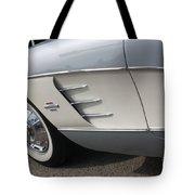 61 Corvette-grey-sidepanel-9241 Tote Bag