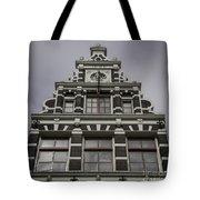 62 Damrak Amsterdam Squared Tote Bag