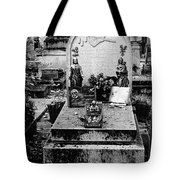 Pere-lachais Cemetery In Paris France Tote Bag
