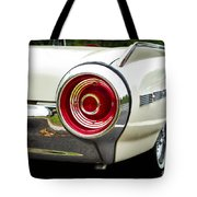 62 Thunderbird Tail Light Tote Bag
