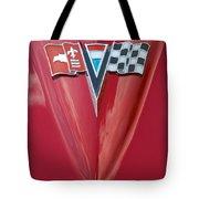 63 Corvette Emblem Tote Bag