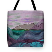 633 - A Dark Stormy Day   Tote Bag