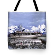Alaska Yachting Tote Bag