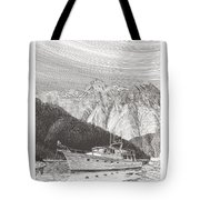 Desolation Sound Quiet Anchorage     Tote Bag