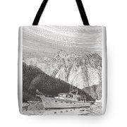 Desolation Sound Quiet Anchorage     Tote Bag