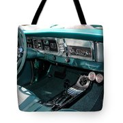 65 Plymouth Satellite Interior-8499 Tote Bag
