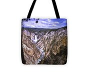 661 Sl Yellowstone Canyon  Tote Bag