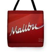 67 Malibu Chevelle Logo -0058 Tote Bag