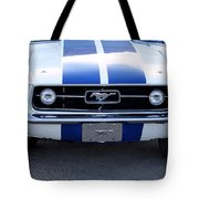 67 Mustang Grill Tote Bag
