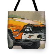 68 Chevelle Abstract Tote Bag