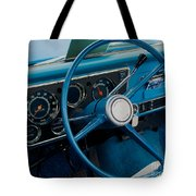 68 Chevy Truck Dash Tote Bag