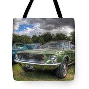 68' Mustang Tote Bag